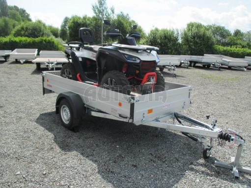 Sklopný přívěsný vozík ZV 31 ALU 1,3T B1 skl 3,00x1,55/0,35 POČ* č.15