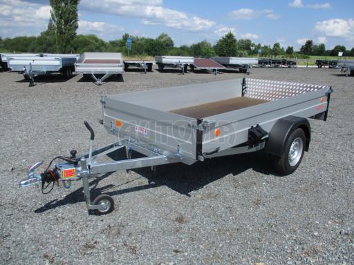 Sklopný přívěsný vozík ZV 31 ALU 1,3T B1 skl 3,00x1,55/0,35 POČ* č.17