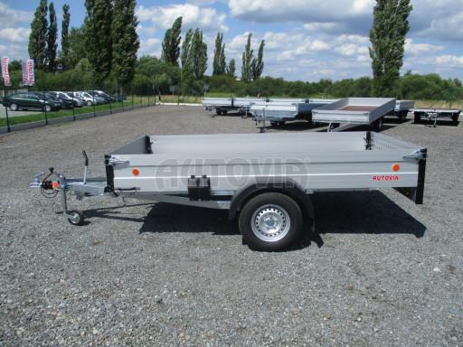 Sklopný přívěsný vozík ZV 31 ALU 1,3T B1 skl 3,00x1,55/0,35 POČ* č.18