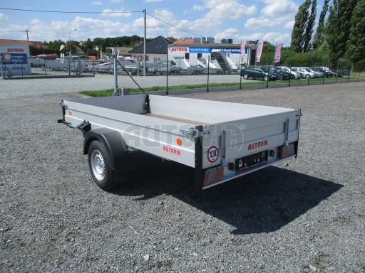 Sklopný přívěsný vozík ZV 31 ALU 1,3T B1 skl 3,00x1,55/0,35 POČ* č.19
