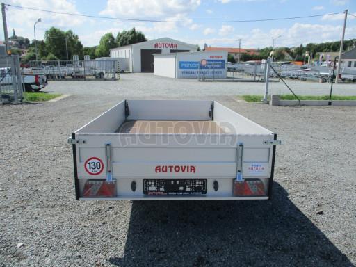 Sklopný přívěsný vozík ZV 31 ALU 1,3T B1 skl 3,00x1,55/0,35 POČ* č.20