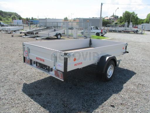 Sklopný přívěsný vozík ZV 31 ALU 1,3T B1 skl 3,00x1,55/0,35 POČ* č.21