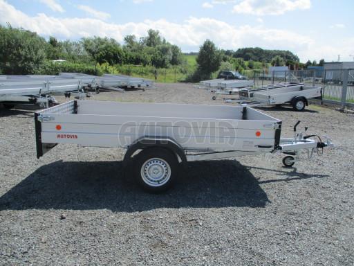 Sklopný přívěsný vozík ZV 31 ALU 1,3T B1 skl 3,00x1,55/0,35 POČ* č.22