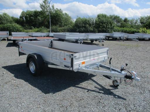 Sklopný přívěsný vozík ZV 31 ALU 1,3T B1 skl 3,00x1,55/0,35 POČ* č.23