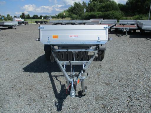 Sklopný přívěsný vozík ZV 31 ALU 1,3T B1 skl 3,00x1,55/0,35 POČ* č.24