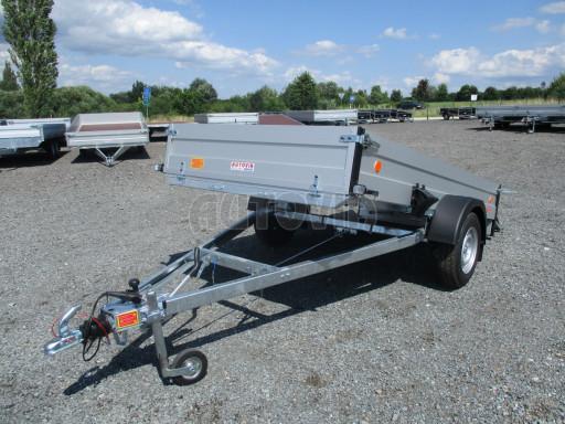 Sklopný přívěsný vozík ZV 31 ALU 1,3T B1 skl 3,00x1,55/0,35 POČ* č.25