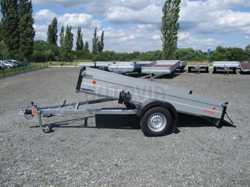 Sklopný přívěsný vozík ZV 31 ALU 1,3T B1 skl 3,00x1,55/0,35 POČ* č.26