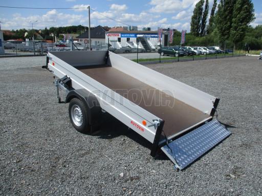 Sklopný přívěsný vozík ZV 31 ALU 1,3T B1 skl 3,00x1,55/0,35 POČ* č.27