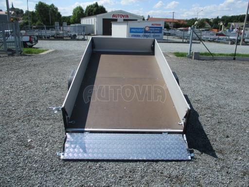 Sklopný přívěsný vozík ZV 31 ALU 1,3T B1 skl 3,00x1,55/0,35 POČ* č.28