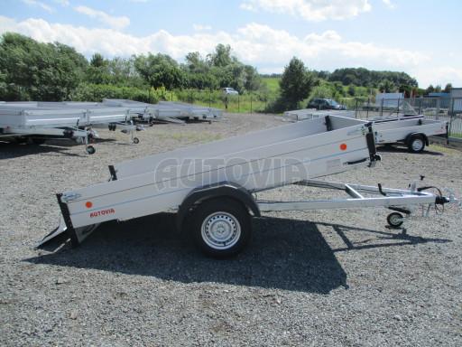 Sklopný přívěsný vozík ZV 31 ALU 1,3T B1 skl 3,00x1,55/0,35 POČ* č.30