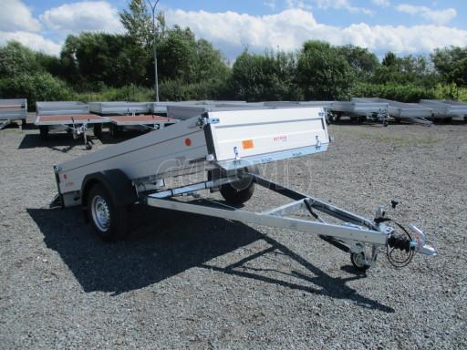 Sklopný přívěsný vozík ZV 31 ALU 1,3T B1 skl 3,00x1,55/0,35 POČ* č.31