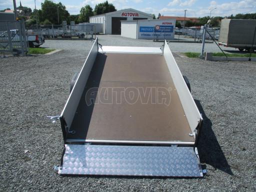 Sklopný přívěsný vozík ZV 31 ALU 1,3T B1 skl 3,00x1,55/0,35 POČ* č.32