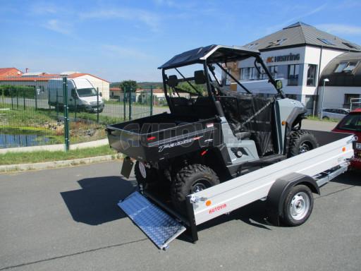 Sklopný přívěsný vozík za osobní auto ZV 31 ALU N1 skl 3,00x1,55/0,35 POČ ZN** č.3