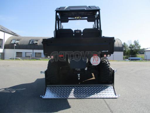 Sklopný přívěsný vozík za osobní auto ZV 31 ALU N1 skl 3,00x1,55/0,35 POČ ZN** č.4