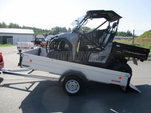 Sklopný přívěsný vozík za osobní auto ZV 31 ALU N1 skl 3,00x1,55/0,35 POČ ZN** č.6