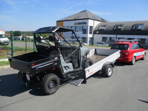 Sklopný přívěsný vozík za osobní auto ZV 31 ALU N1 skl 3,00x1,55/0,35 POČ ZN** č.11