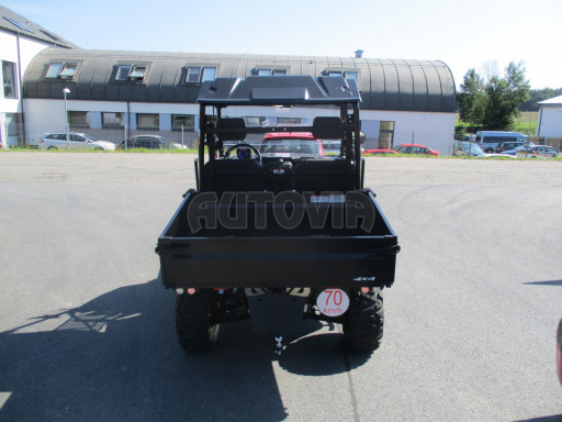 Sklopný přívěsný vozík za osobní auto ZV 31 ALU N1 skl 3,00x1,55/0,35 POČ ZN** č.12