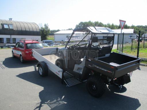 Sklopný přívěsný vozík za osobní auto ZV 31 ALU N1 skl 3,00x1,55/0,35 POČ ZN** č.13