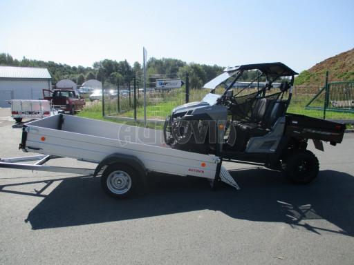 Sklopný přívěsný vozík za osobní auto ZV 31 ALU N1 skl 3,00x1,55/0,35 POČ ZN** č.14