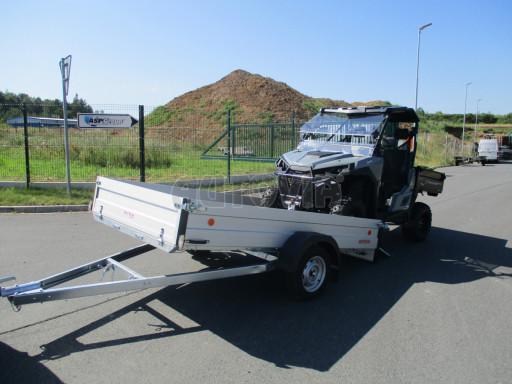 Sklopný přívěsný vozík za osobní auto ZV 31 ALU N1 skl 3,00x1,55/0,35 POČ ZN** č.15