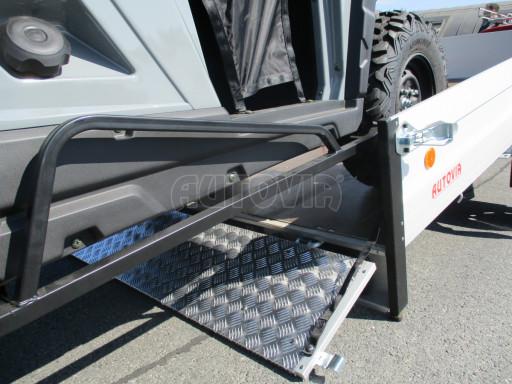 Sklopný přívěsný vozík za osobní auto ZV 31 ALU N1 skl 3,00x1,55/0,35 POČ ZN** č.16