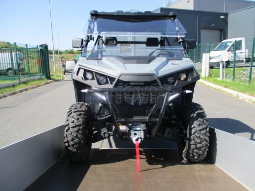 Sklopný přívěsný vozík za osobní auto ZV 31 ALU N1 skl 3,00x1,55/0,35 POČ ZN** č.17