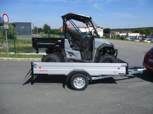 Sklopný přívěsný vozík za osobní auto ZV 31 ALU N1 skl 3,00x1,55/0,35 POČ ZN** č.20