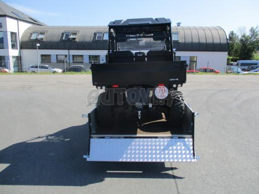 Sklopný přívěsný vozík za osobní auto ZV 31 ALU N1 skl 3,00x1,55/0,35 POČ ZN** č.22