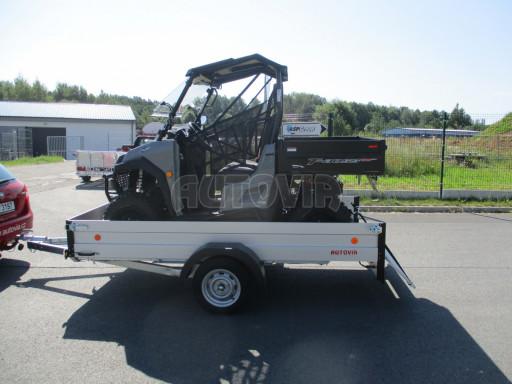 Sklopný přívěsný vozík za osobní auto ZV 31 ALU N1 skl 3,00x1,55/0,35 POČ ZN** č.24