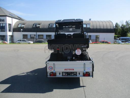 Sklopný přívěsný vozík za osobní auto ZV 31 ALU N1 skl 3,00x1,55/0,35 POČ ZN** č.26
