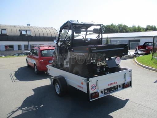Sklopný přívěsný vozík za osobní auto ZV 31 ALU N1 skl 3,00x1,55/0,35 POČ ZN** č.27