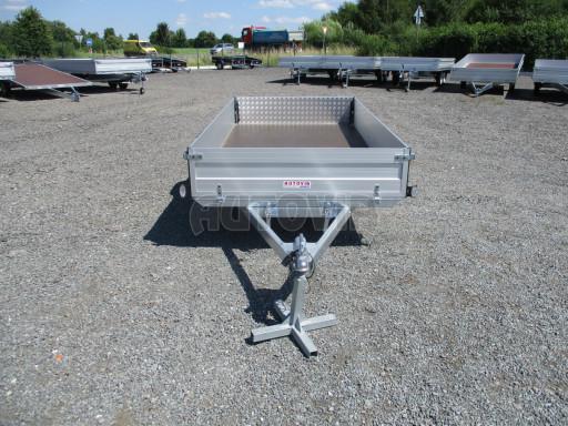 Sklopný přívěsný vozík za osobní auto ZV 31 ALU N1 skl 3,00x1,55/0,35 POČ ZN** č.30