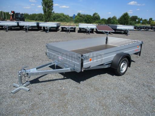 Sklopný přívěsný vozík za osobní auto ZV 31 ALU N1 skl 3,00x1,55/0,35 POČ ZN** č.31