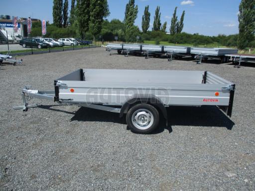 Sklopný přívěsný vozík za osobní auto ZV 31 ALU N1 skl 3,00x1,55/0,35 POČ ZN** č.32