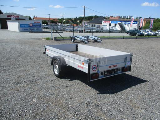 Sklopný přívěsný vozík za osobní auto ZV 31 ALU N1 skl 3,00x1,55/0,35 POČ ZN** č.33