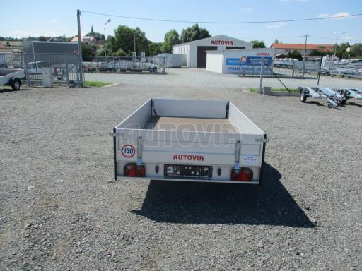 Sklopný přívěsný vozík za osobní auto ZV 31 ALU N1 skl 3,00x1,55/0,35 POČ ZN** č.34