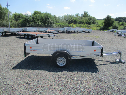 Sklopný přívěsný vozík za osobní auto ZV 31 ALU N1 skl 3,00x1,55/0,35 POČ ZN** č.36