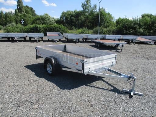 Sklopný přívěsný vozík za osobní auto ZV 31 ALU N1 skl 3,00x1,55/0,35 POČ ZN** č.37