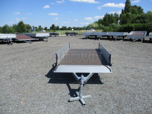 Sklopný přívěsný vozík za osobní auto ZV 31 ALU N1 skl 3,00x1,55/0,35 POČ ZN** č.38