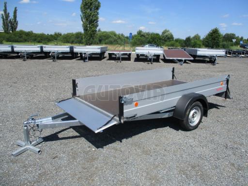 Sklopný přívěsný vozík za osobní auto ZV 31 ALU N1 skl 3,00x1,55/0,35 POČ ZN** č.39