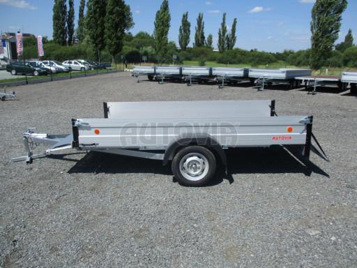 Sklopný přívěsný vozík za osobní auto ZV 31 ALU N1 skl 3,00x1,55/0,35 POČ ZN** č.40
