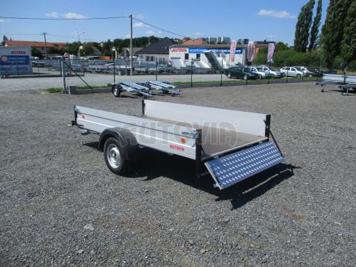 Sklopný přívěsný vozík za osobní auto ZV 31 ALU N1 skl 3,00x1,55/0,35 POČ ZN** č.41