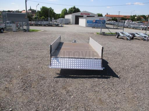 Sklopný přívěsný vozík za osobní auto ZV 31 ALU N1 skl 3,00x1,55/0,35 POČ ZN** č.42