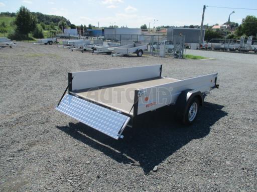 Sklopný přívěsný vozík za osobní auto ZV 31 ALU N1 skl 3,00x1,55/0,35 POČ ZN** č.43
