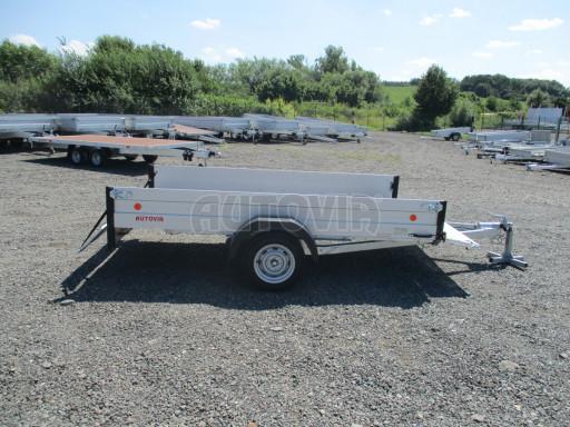 Sklopný přívěsný vozík za osobní auto ZV 31 ALU N1 skl 3,00x1,55/0,35 POČ ZN** č.44