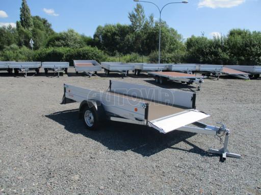 Sklopný přívěsný vozík za osobní auto ZV 31 ALU N1 skl 3,00x1,55/0,35 POČ ZN** č.45