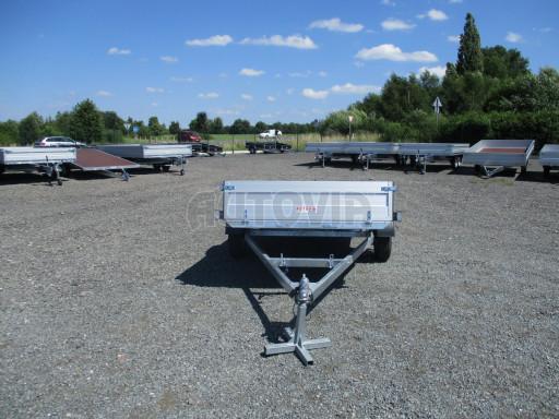 Sklopný přívěsný vozík za osobní auto ZV 31 ALU N1 skl 3,00x1,55/0,35 POČ ZN** č.46