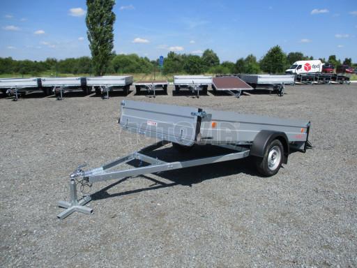 Sklopný přívěsný vozík za osobní auto ZV 31 ALU N1 skl 3,00x1,55/0,35 POČ ZN** č.47