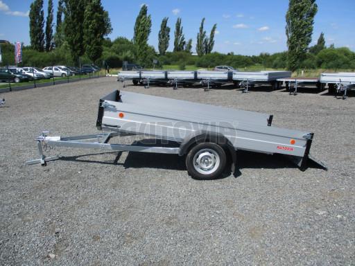 Sklopný přívěsný vozík za osobní auto ZV 31 ALU N1 skl 3,00x1,55/0,35 POČ ZN** č.48