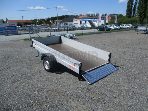 Sklopný přívěsný vozík za osobní auto ZV 31 ALU N1 skl 3,00x1,55/0,35 POČ ZN** č.49